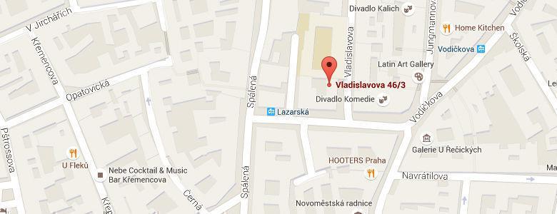 Vladislavova 46/3, 110 00 Praha 1